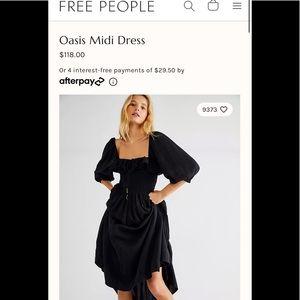 Free People Oasis Dress